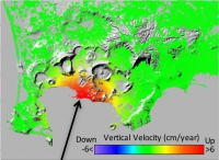 A new operational service for monitoring deformations in active volcanoes