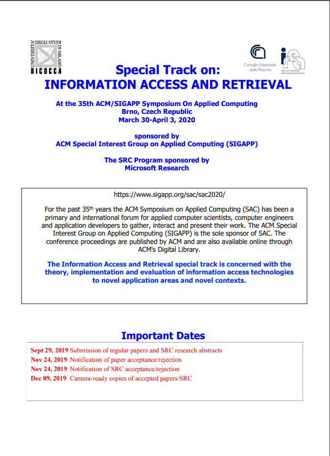Information Access and Retrieval