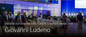 EGU Division Outstanding Early Career Scientists Award a Giovanni Ludeno